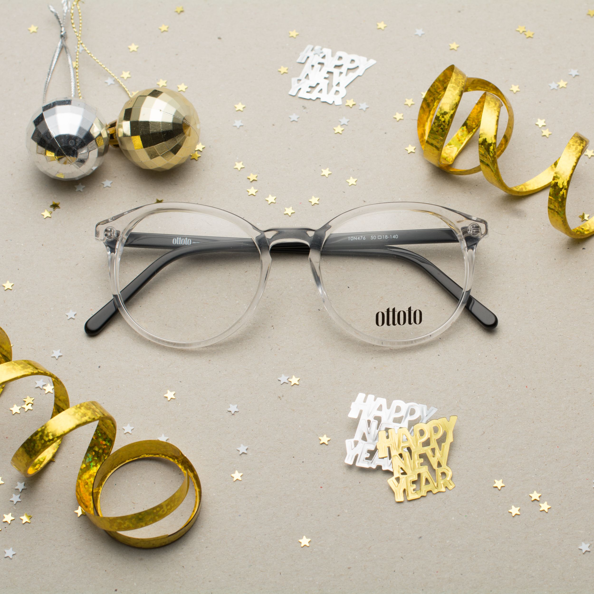 71c587405b Round clear frames in plastic for men and women. Happy New Year! Ring 2017  in style with our Ottoto collection found exclusively at GlassesUSA.com