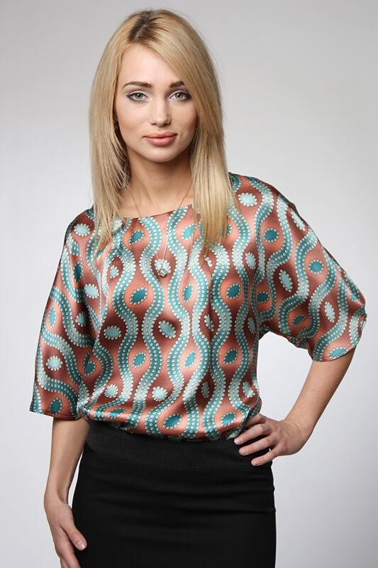 Модели блузок из шелка фото с выкройками
