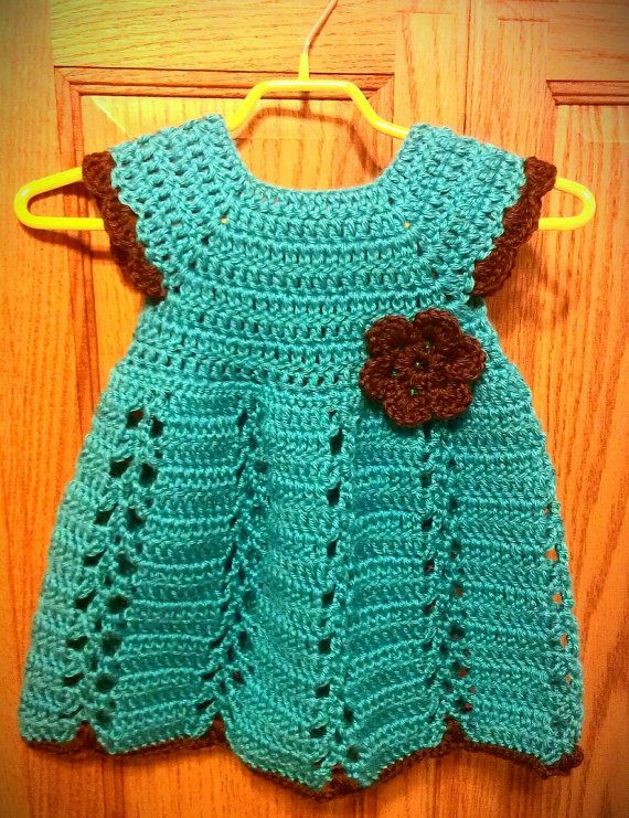 Crochet Pattern: Ribbon & Lace Toddler por CraftingFriendsDesig ...