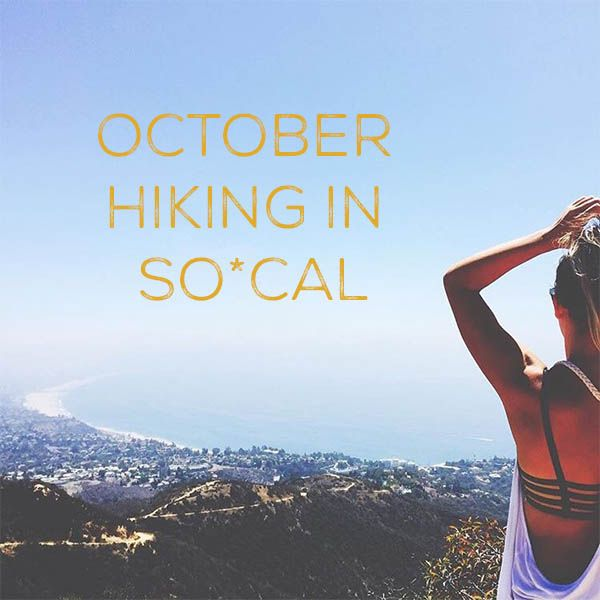 Yes, here at Cabo Chips we are all about the snackage of delicious Non-GMO  Tortilla chips but we are also about an active lifestyle and enjoying the  amazing weather SoCal provides us. Here are a few of my favorite hikes for  Fall weather.So grab your water bottle and lets go see the view!