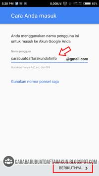Daftar Akun Google Buat Email Baru Lewat Hp Contoh Alamat Gmail Google Aplikasi Android