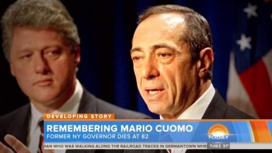 All three networks on Friday offered glowing tributes to the liberal lion fmr gov cuomo