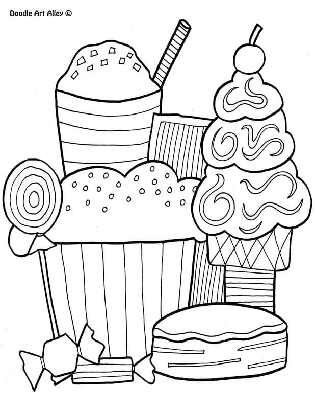 preema food coloring pages - photo#28
