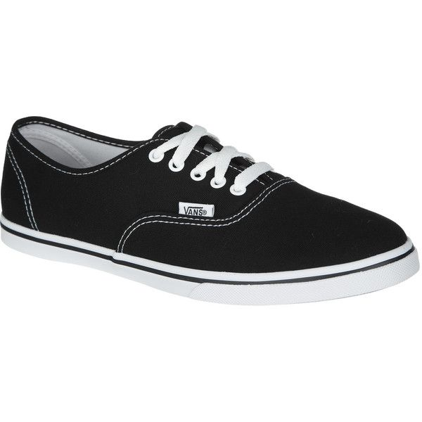 Vans Authentic Lo Pro Solid Shoe ($36) ❤ liked on Polyvore featuring shoes, sneakers, vans, vans trainers, vans footwear, low profile sneakers, vans sneakers and low profile shoes