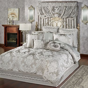 Bellamy Silver Gray Comforter Bedding Touch Of Class With