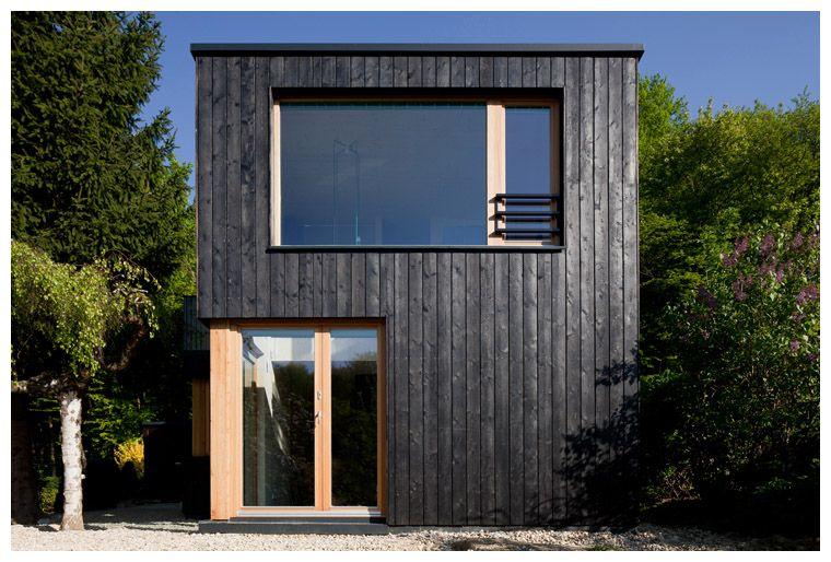 Fassade seidenholz google suche yakisugi for Japanische architektur holz