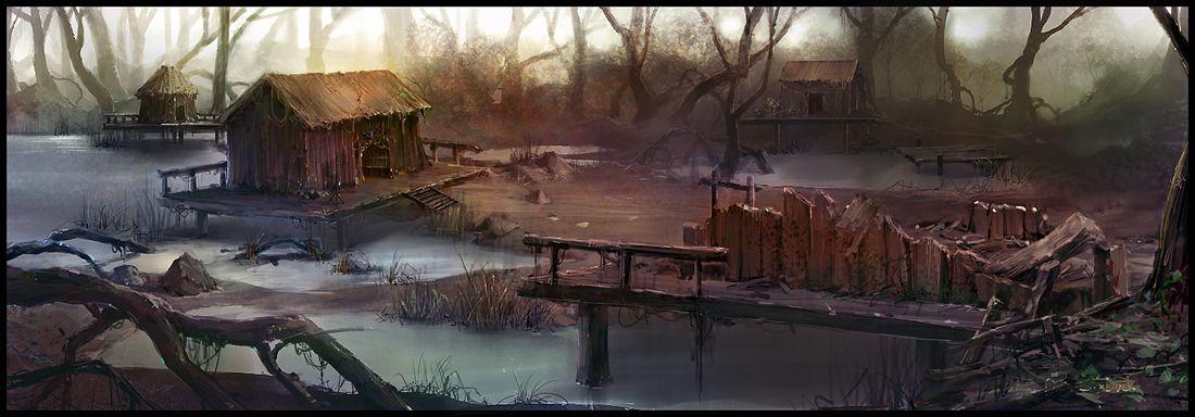 Swamp village - Google zoeken   Skomp Malformé   Pinterest ...