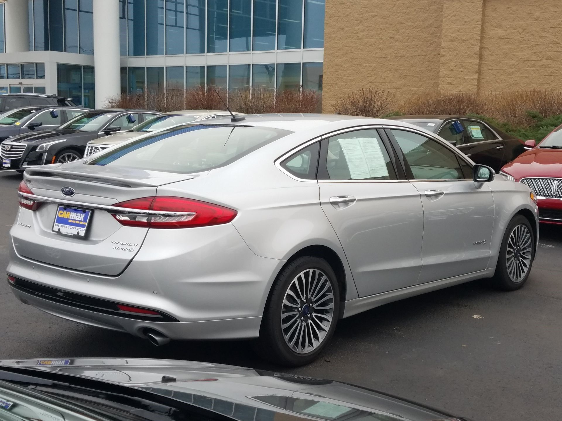 2018 Ford Fusion Titanium Hybrid In 2020 Ford Fusion Ford Gas And Electric