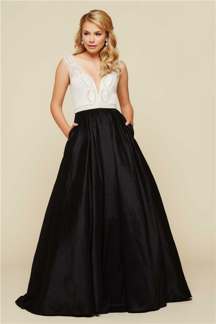 Black and white formal dresses pinterest