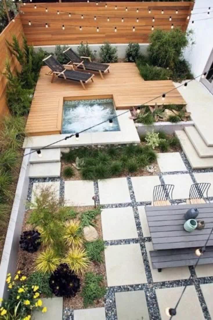 Top 50 Best Modern Deck Ideas Contemporary Backyard Designs In 2020 Outdoor Furniture Ideas Backyards Backyard Design Modern Backyard Modern backyard deck design ideas