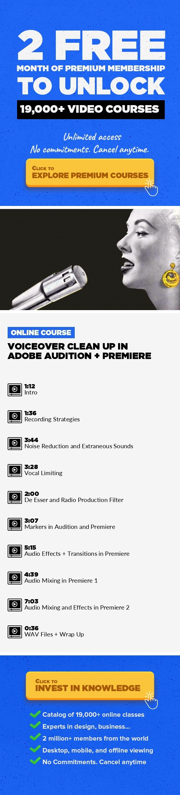 Voiceover Clean Up In Adobe Audition + Premiere Audio Post