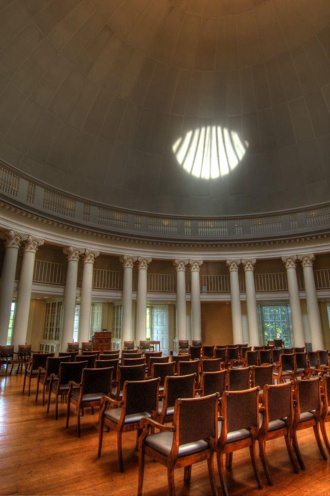 The Rotunda Was The Original Library From 1819 26 The Rotunda At