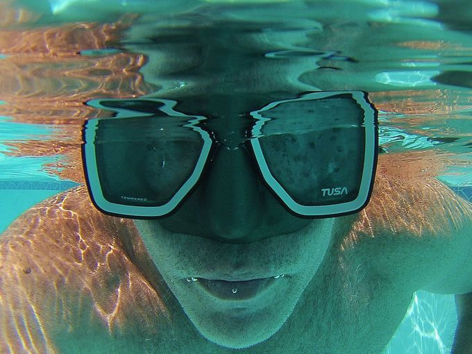 """""""GoPro action cams are great for summertime selfies."""" By Joel Fishburn, Your Take.  USA TODAY's Your Take wants to see your best action-cam shots. Sign up at yourtake.usatoday.com."""