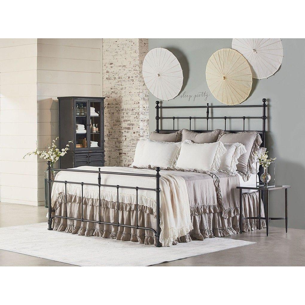 Trellis metal bed in bedroom design ideas pinterest home