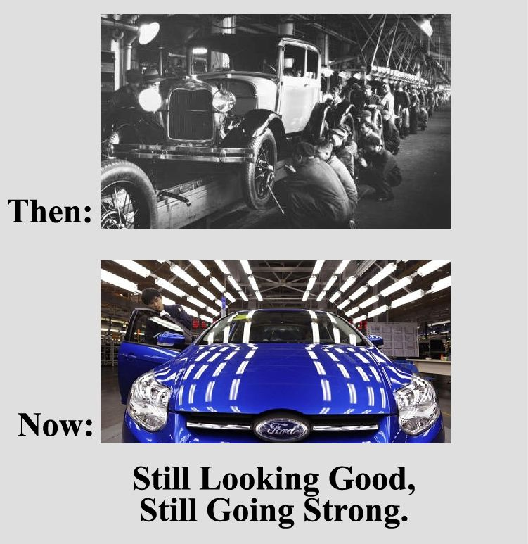 Still Looking Good Still Going Strong Best Ford Strong