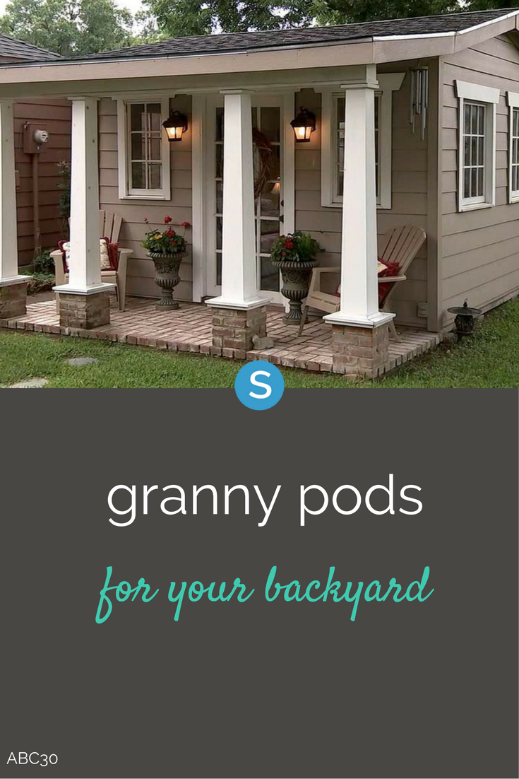 Granny Podsu0027 Are The Latest Rage For Keeping Your Aging Parents In A Cottage  As. U0027