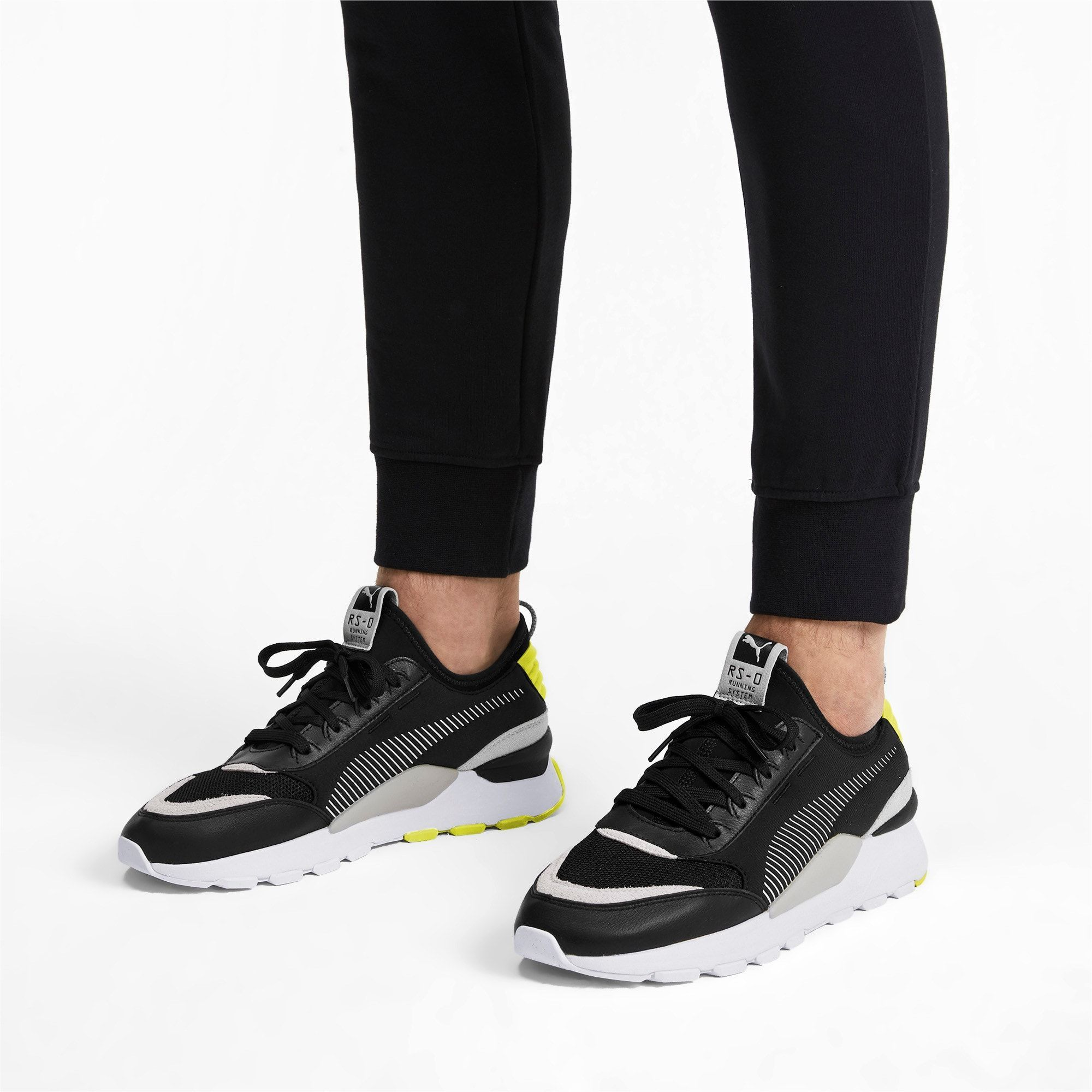 current shoe trend PUMA RS-0 Core Trainers in Blac