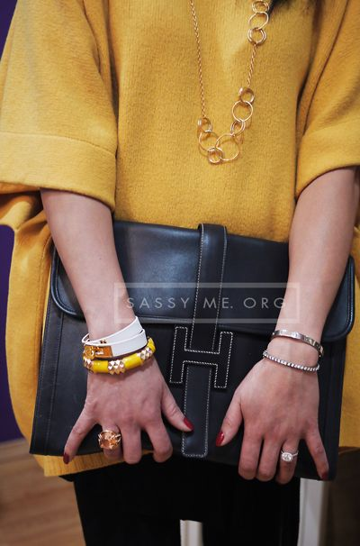 Hermes Jige Gm Clutch Double
