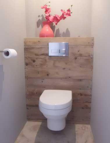 10 façons d\'arranger la déco de ses WC | Pinterest | Coin toilette ...