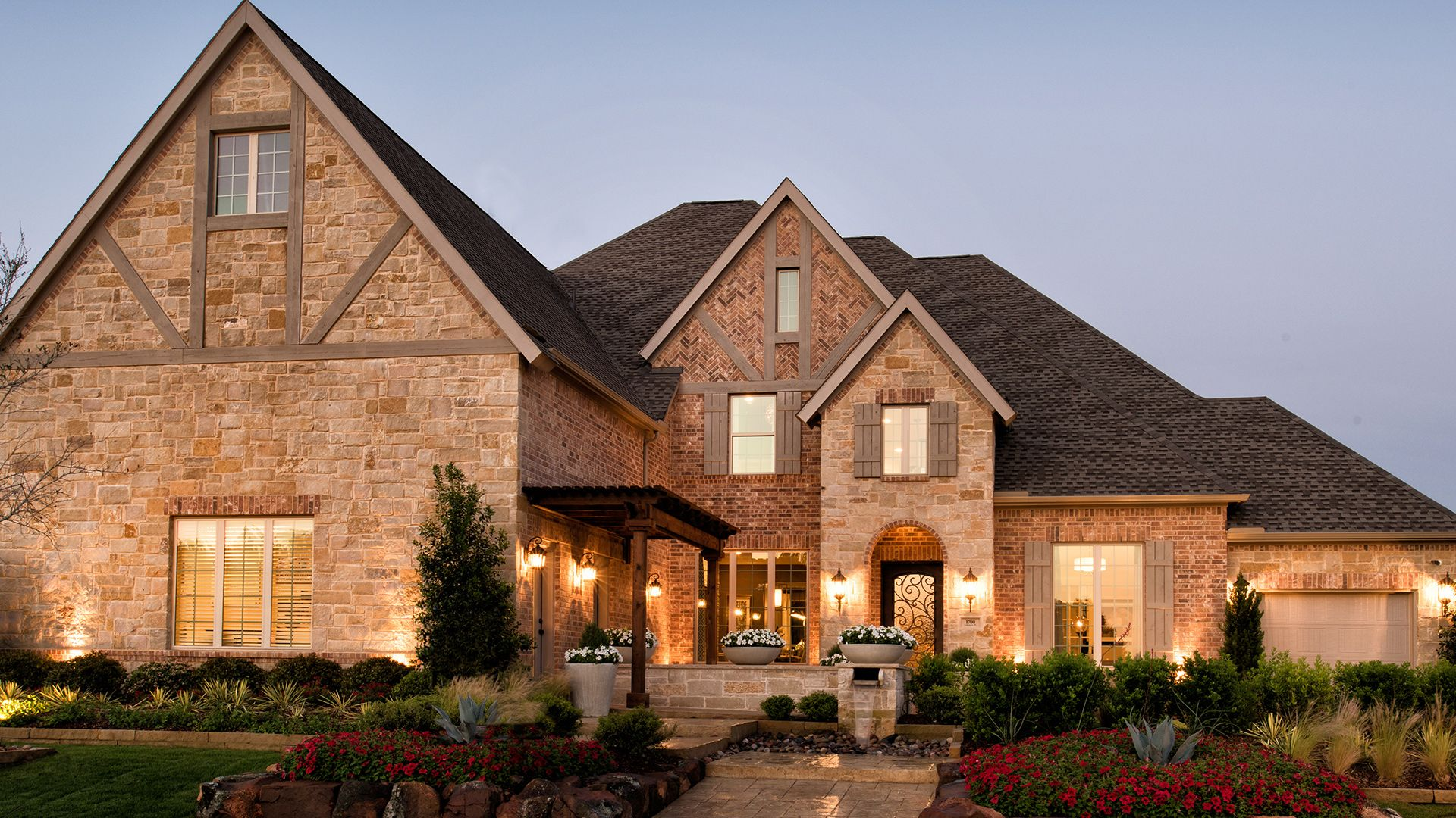 The bellwynn is a luxurious toll brothers home design