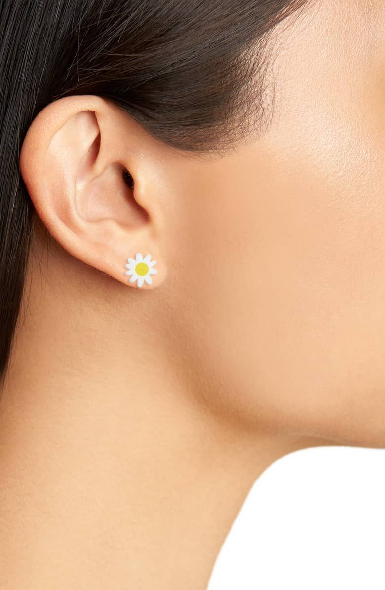 80ea26b73 Nordstrom - Woll Mini Daisy Stud Earrings | WOLL Jewelry in 2019 ...