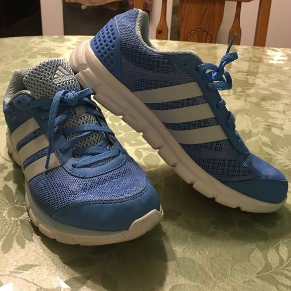 Adidas breeze 202 Adidas breeze 202 in light blue, like new size 9 for woman Adidas Shoes Athletic Shoes