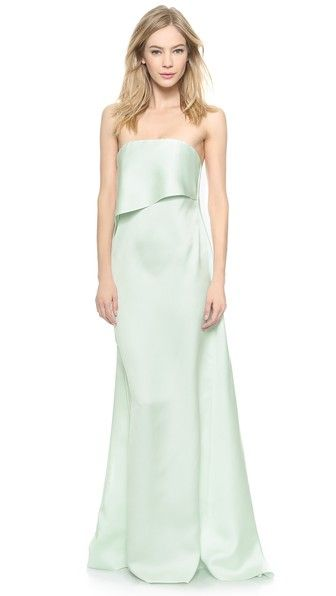 LOOOOOVE THIS Cedric Charlier Strapless Gown
