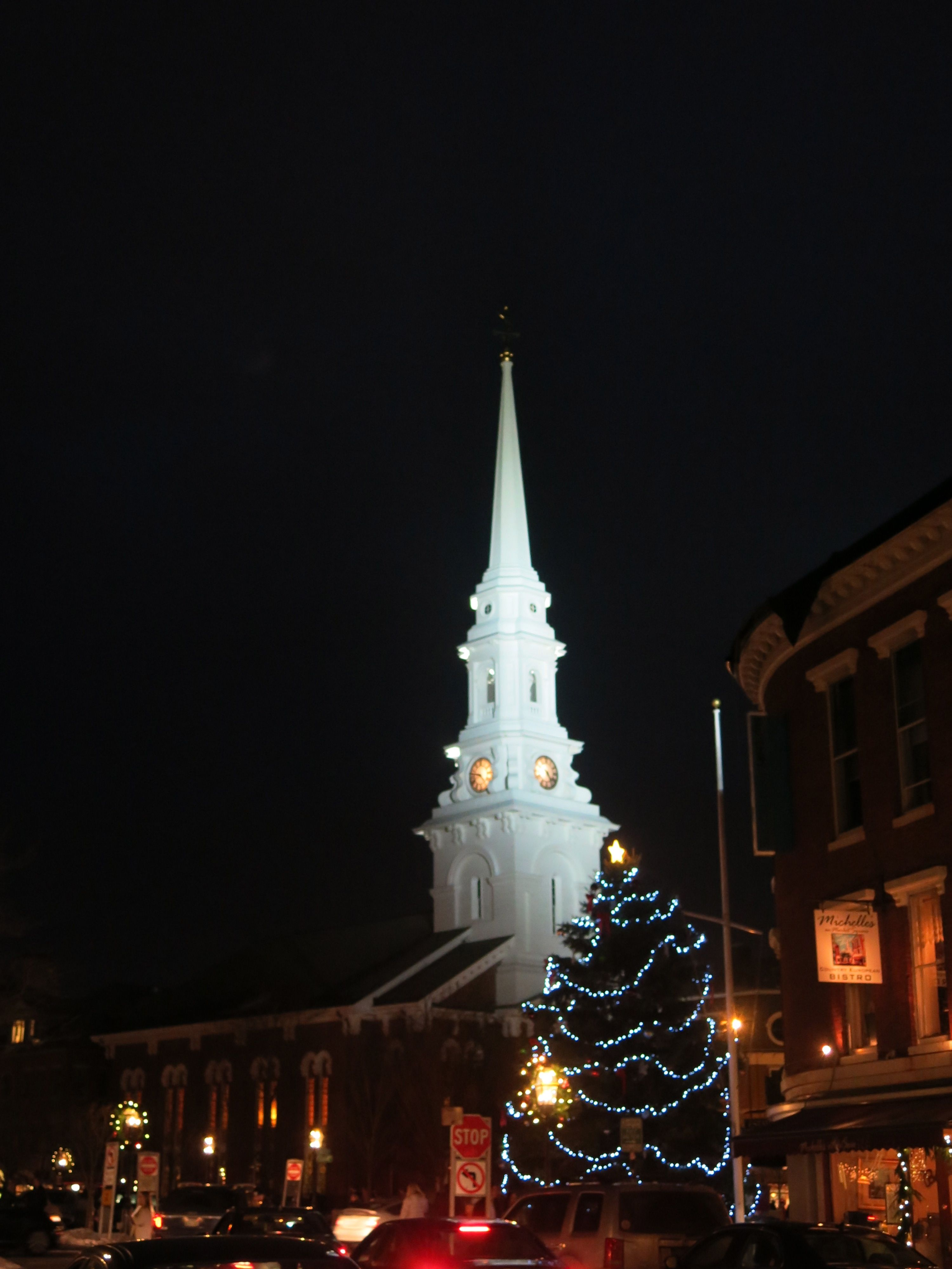 Portsmouth Nh Market Square Portsmouth Holiday Decor