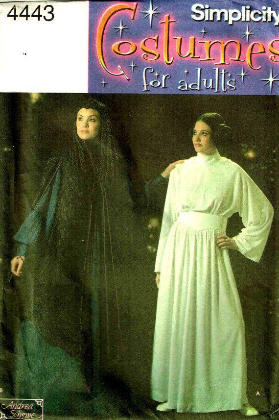 Princess Leia Queen Padme Amidala Coat Hat Dress Misses Star Wars ...