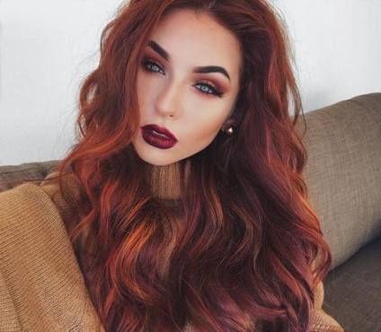 48 Ideas Makeup Red Hair Blue Eyes Eyebrows Natural Red Hair Summer Hair Color Hair Color For Women