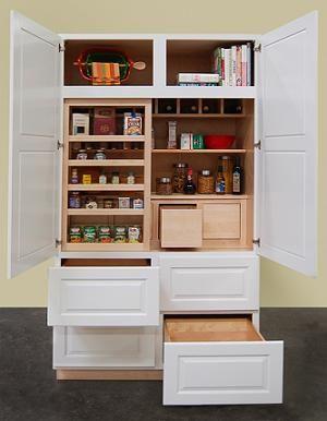 Canyon Creek Cabinet Co Pantry Larder Kitchen Cupboard