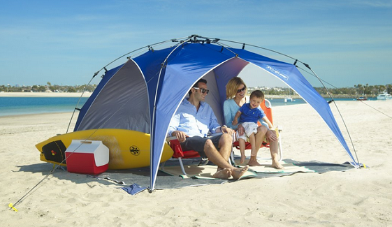 Shadebrella Beach Sun Shade Canopy | Cabana | Beach Cabanas | Beach Canopies | Modern Beach Umbrellas | Sun ... | Lifeu0027s a Beach | Pinterest | Beach canopy ... & Shadebrella Beach Sun Shade Canopy | Cabana | Beach Cabanas ...