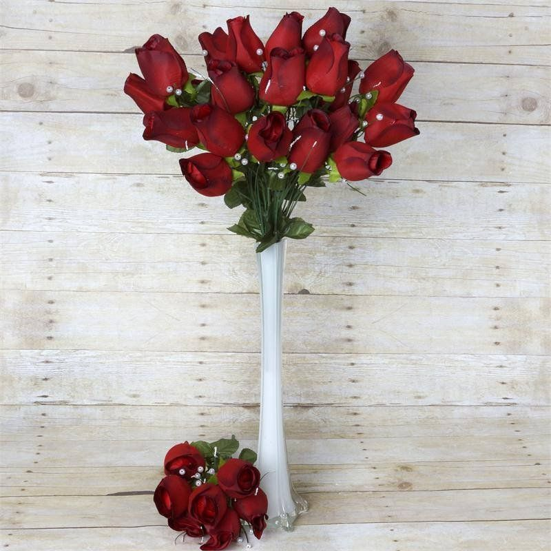 42 artificial giant velvet rose buds wedding flower bouquet 42 artificial giant velvet rose buds wedding flower bouquet centerpiece decor blackred sold out mightylinksfo Images