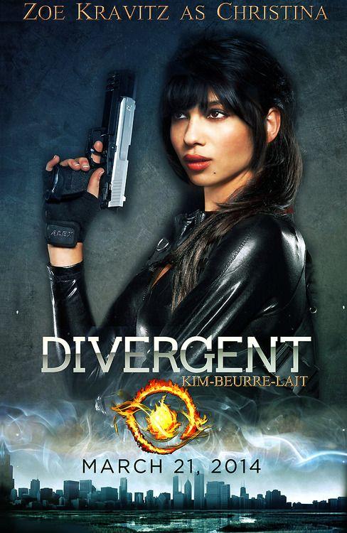 Zoe Kravitz / Divergent | Divergent | Pinterest
