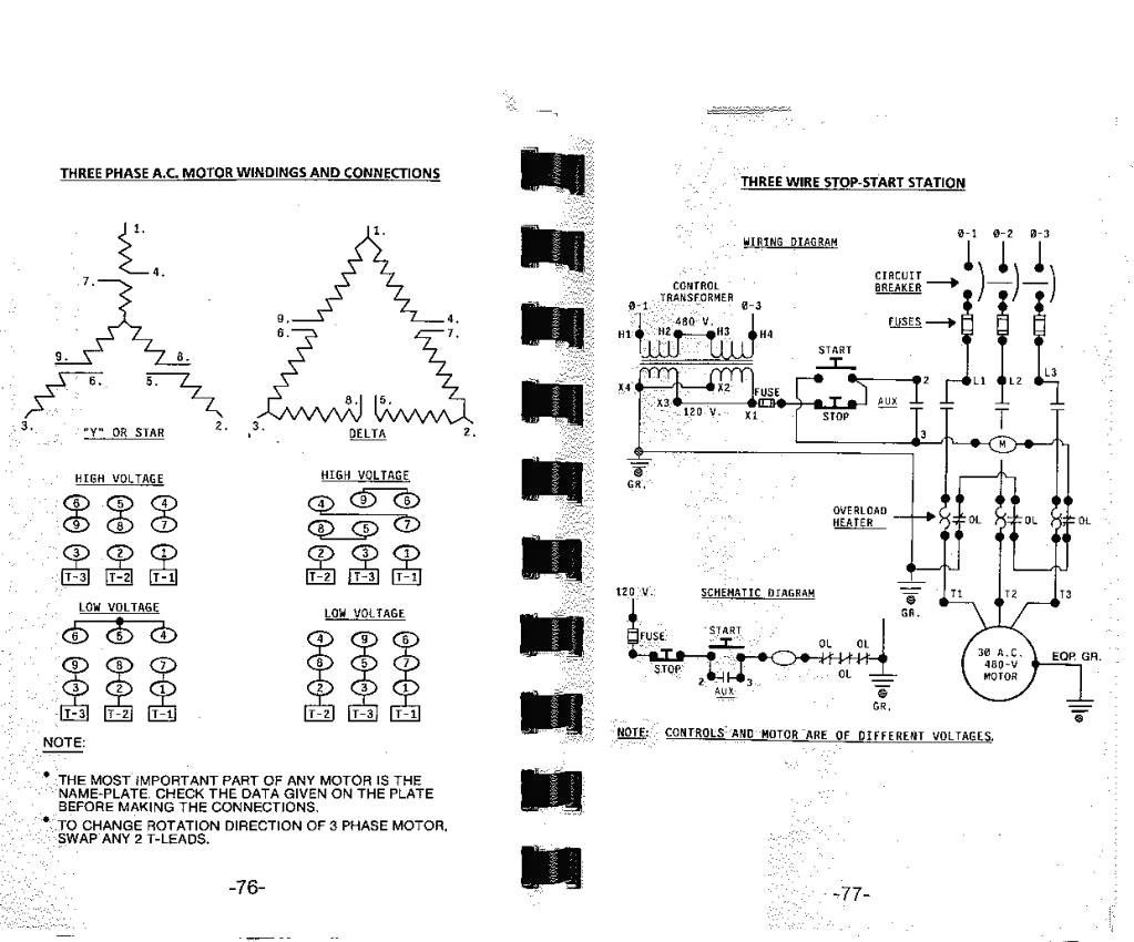 3 Phase 240v Motor Wiring Diagram Electrical Diagram Diagram