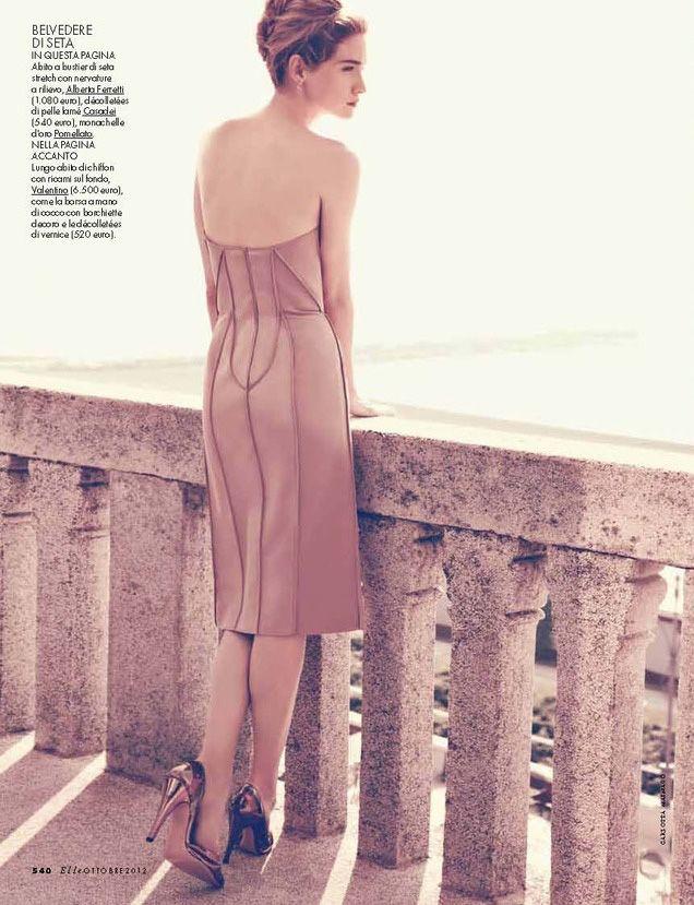 Lesly Masson by Carlotta Manaigo for Elle Italy