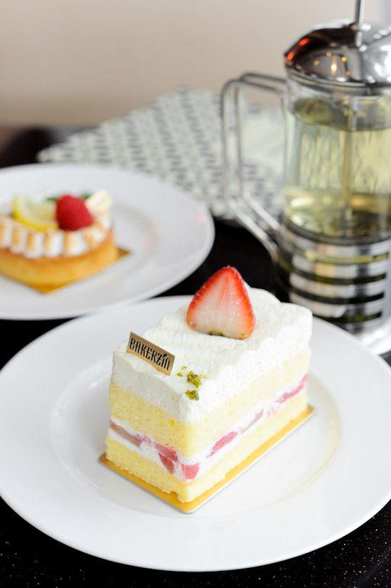Strawberry Shortcake High Tea Dessert Places Coffee Cake