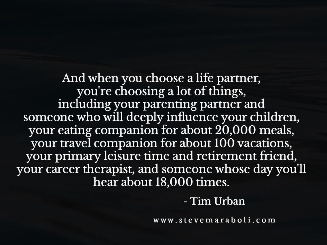 Choosing A Life Partner Share With My Girls Quotes Life