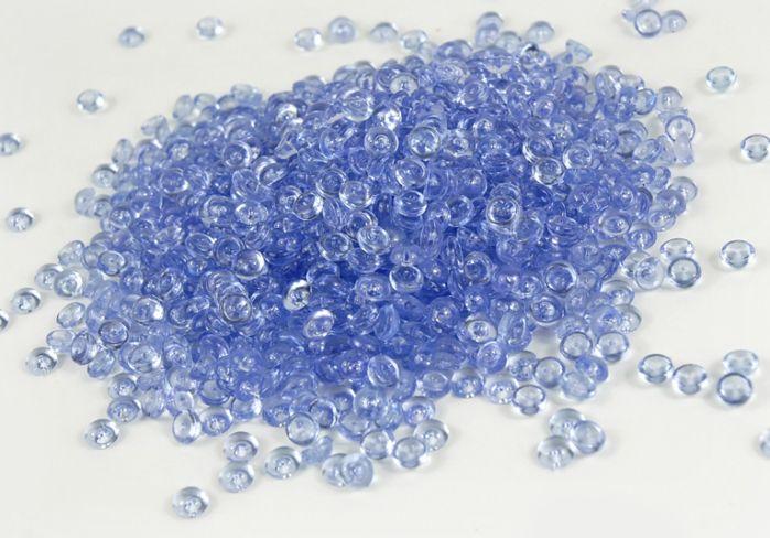 Vase Fillers Color Fill Blue Rain Drop Vase Filler Gems 1 Lb 7