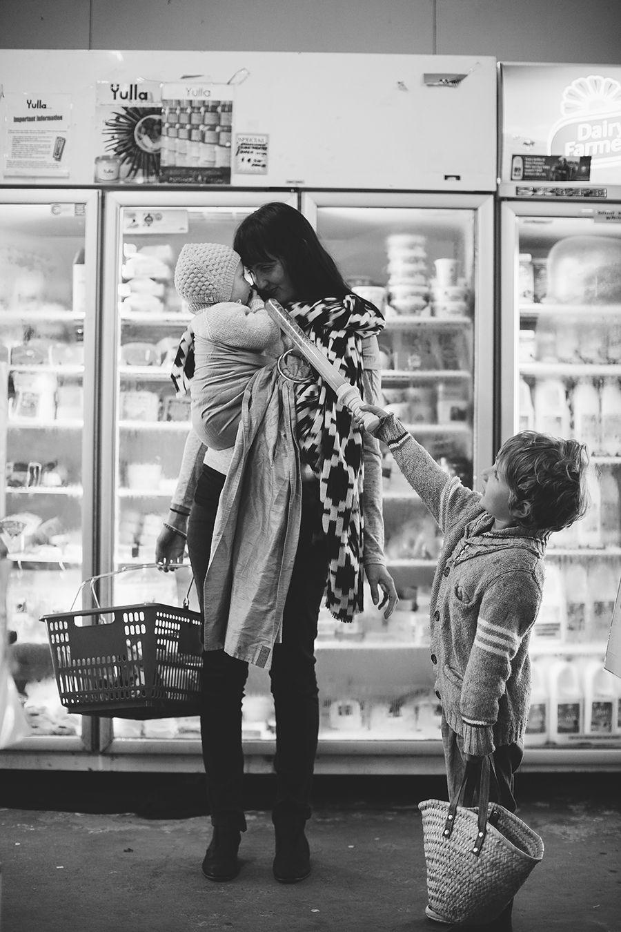 the sling diaries: jodi and family babywearing communication #sakurabloom