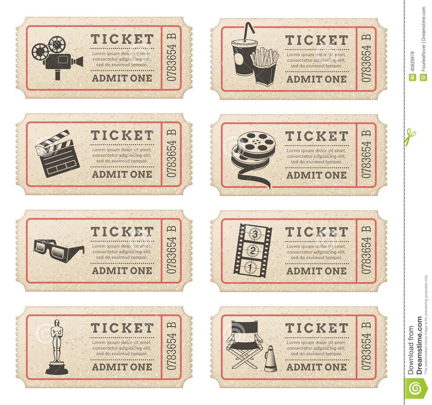 how to ask for tickets at the cinema
