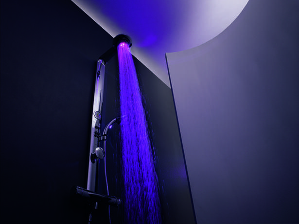 Color Changing Shower Head Not Very Practical But It Would Be