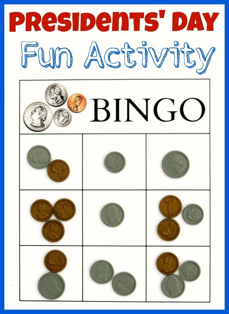 Playful image with money bingo printable