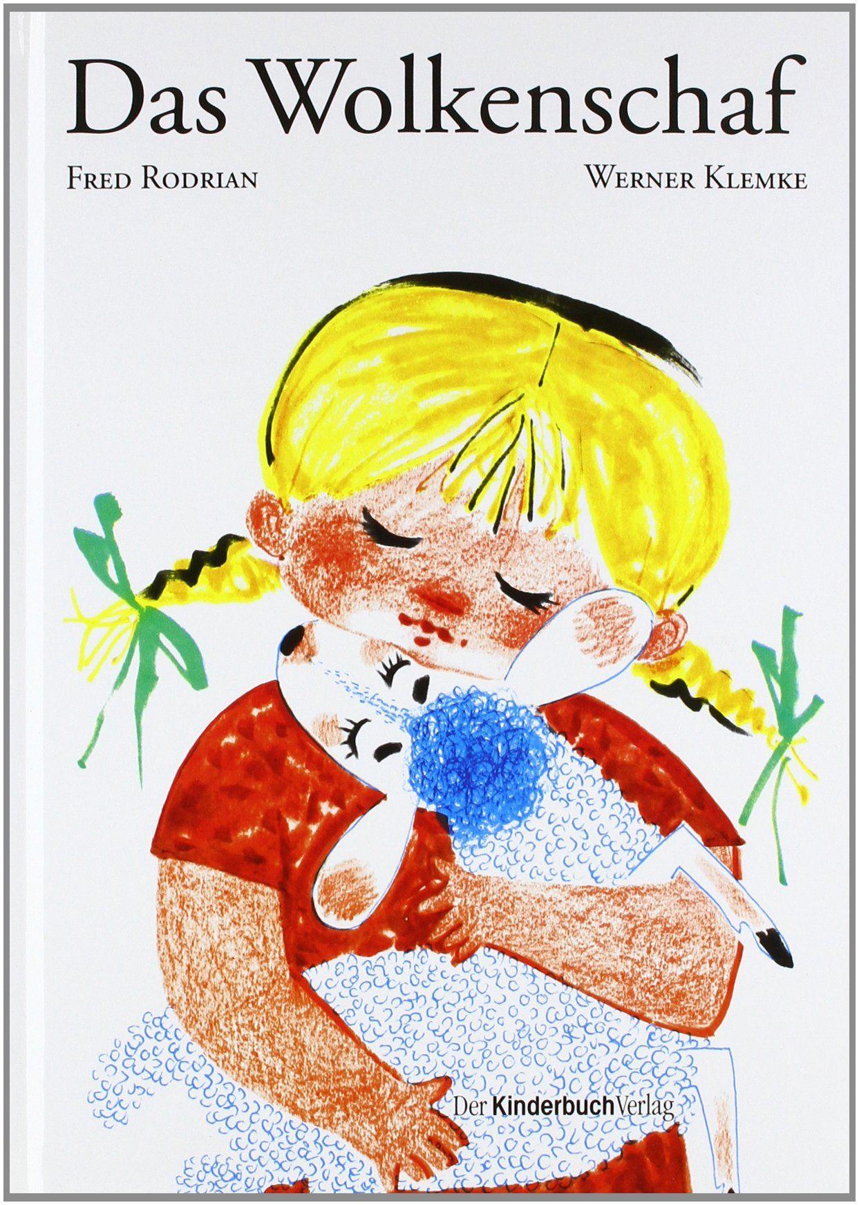 """illustration by Werner Klemke  - """"Das Wolkenschaf"""" by Fred Rodrian,"""