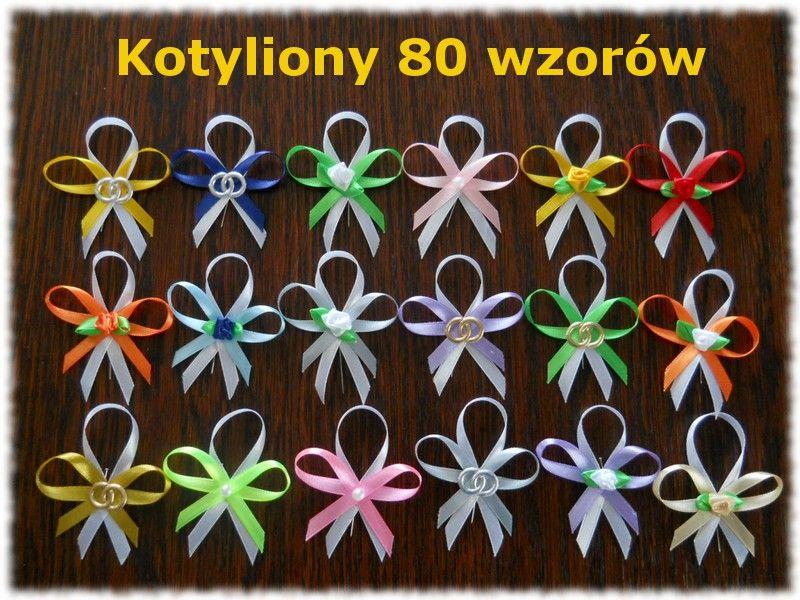 Kotyliony Dla Gosci Swiadkow 10 Szt Przypinki 2817501778 Oficjalne Archiwum Allegro Maid Of Honor Bows