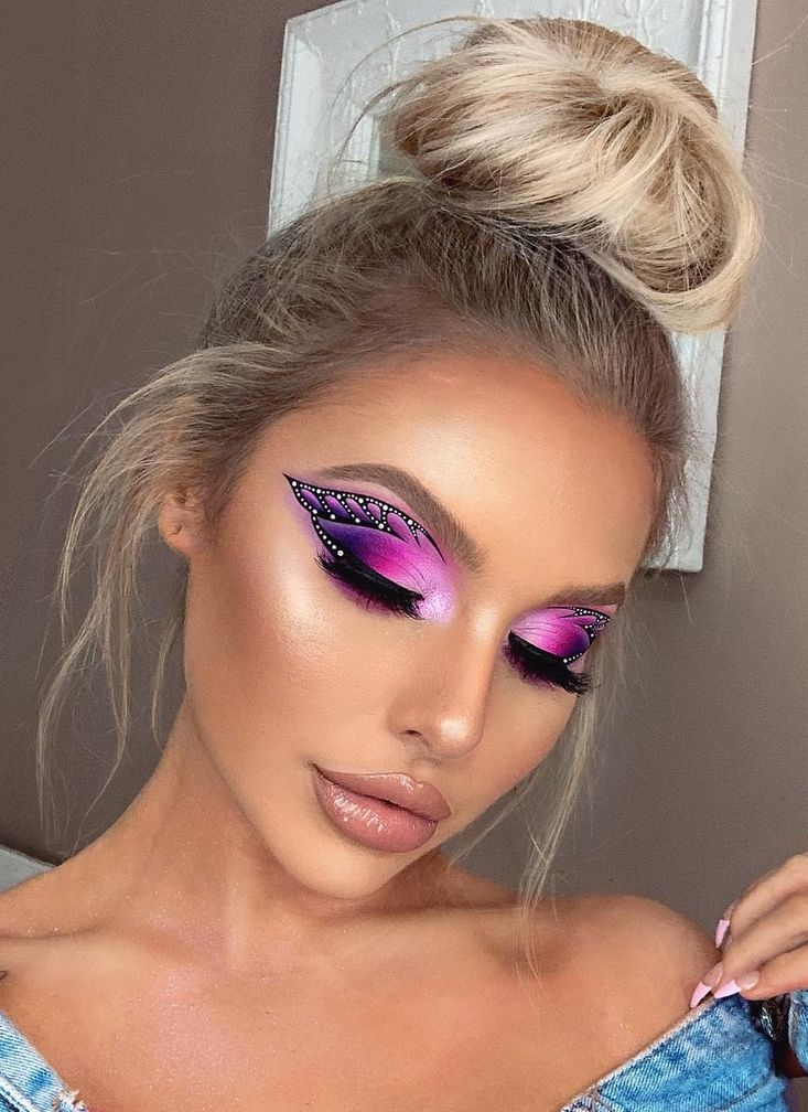 Easy Festival Makeup Ideas From colourful festival eye