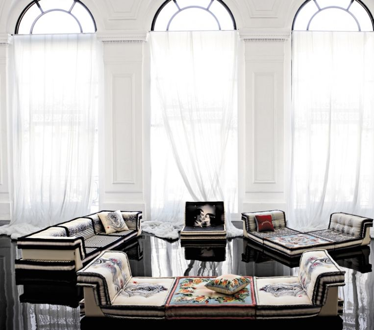 Mah Jong Sofa By Jean Paul Gaultier Roche Bobois Modern Patio Furniture Interior Design Blog Gorgeous Interiors
