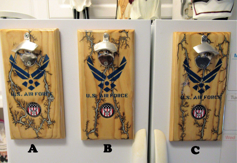 U.S. Air Force, Fractal Burned Bottle Opener