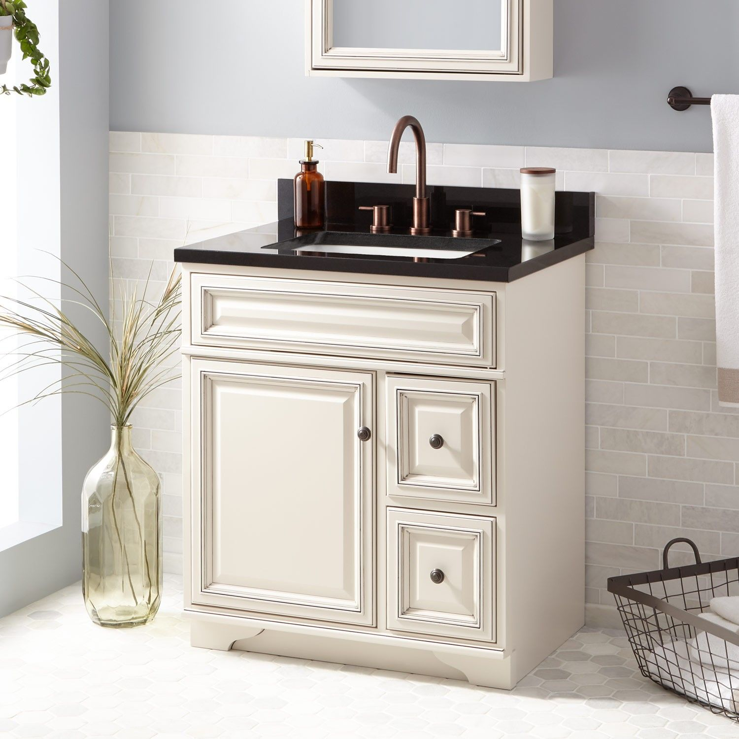 "30"" Misschon Vanity for Rectangular Undermount Sink"