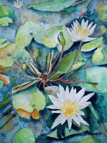 Water Lilies by *p-e-a-k on deviantART